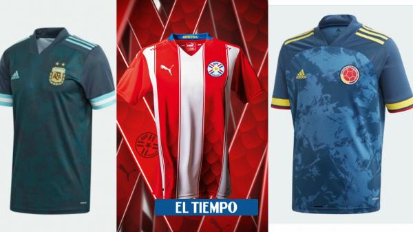 Eliminatorias al Mundial Catar 2022: camisetas oficiales de Colombia y selecciones Conmebol - Fútbol Internacional - Deportes