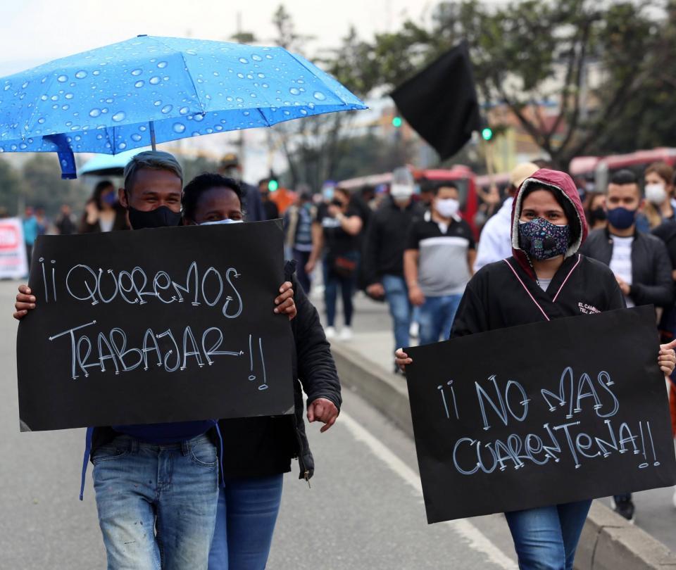 Empleo | Mercado laboral | Reactivación económica en Colombia - Sectores - Economía