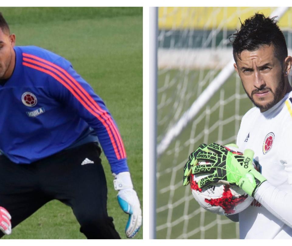 Entre Álvaro Montero y Camilo Vargas Queiroz elige el reemplazo de Ospina en la Selección Colombia - Fútbol Internacional - Deportes