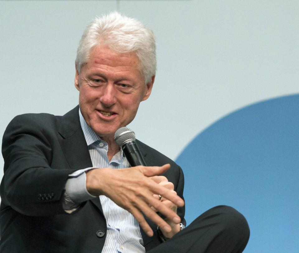Expresidente de Estados Unidos Bill Clinton invita a invertir en Colombia - Sectores - Economía
