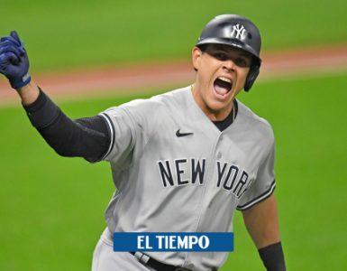 Giovanny Urshela: grand slam con los Yankees contra INdios - Otros Deportes - Deportes
