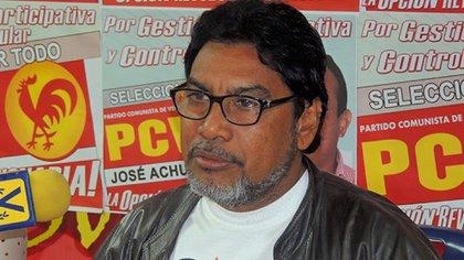 Oscar Figuera, secretario general del PCV, denuncia que la Ley Antibloqueo viola la Constitución