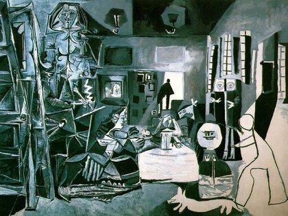 """Primera obra de la serie """"Las meninas"""" (1957) de Pablo Picasso"""