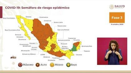 Campeche ha enseñado al resto de los estados a mantener el número de contagios y decesos de COVID-19 controlados (Foto: Ssa)