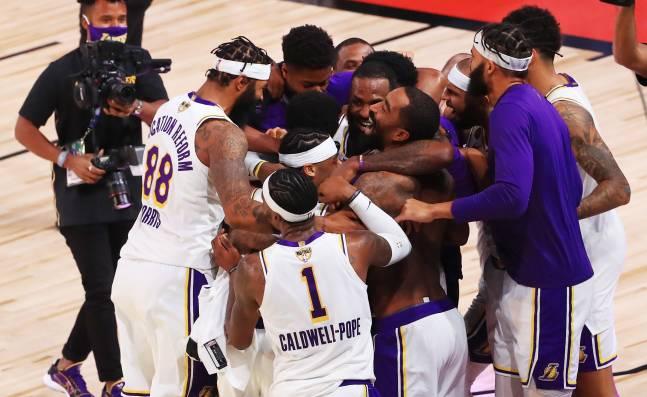 La muerte de Kobe Bryant y el Covid-19 marcaron la temporada de Los Lakers