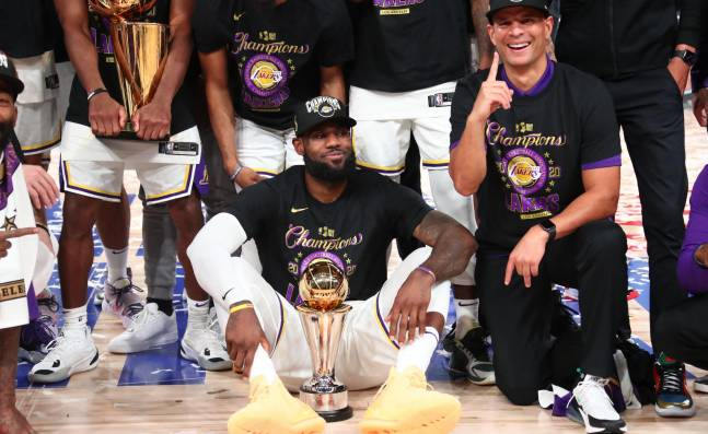 LeBron James, el retorno del rey con los Lakers