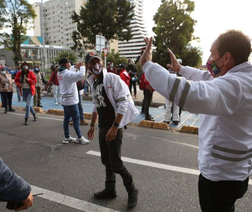 Listo el protocolo para marchas y manifestaciones - Gobierno - Política