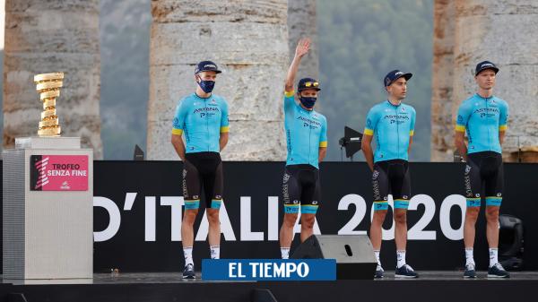 Los siete colombianos que competirán en el Giro de Italia 2020 - Ciclismo - Deportes