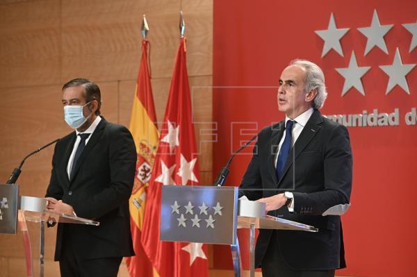 Madrid cierra su capital, pero no el enfrentamiento político