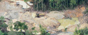 Minería ilegal: El 59 % de este flagelo se desarrolla en zonas protegidas - Sectores - Economía