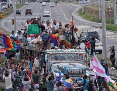 Minga Indígena | En vivo: marcha de indígenas en Bogotá - Política