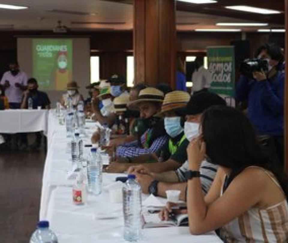 Minga indígena: harán movilización en Cali antes de irse para Bogotá - Cali - Colombia