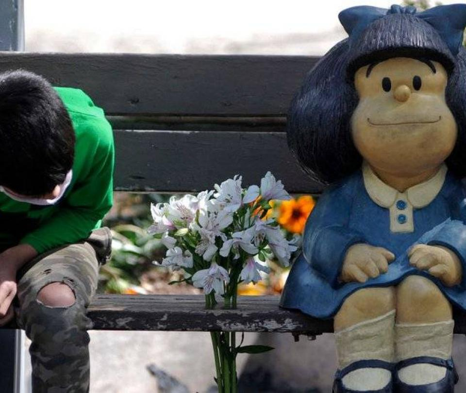 Muerte de Quino: frases simbólicas de Mafalda que te hacen reflexionar - Entretenimiento - Cultura