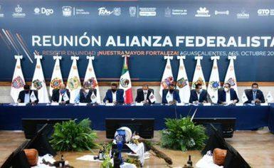 Alianza Federalista respondió a gobernadores que mostraron su apoyo a AMLO (Foto; Twitter@AFederalista)