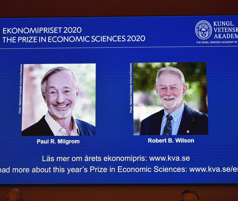 Premio nobel de economía 2020 | Economía
