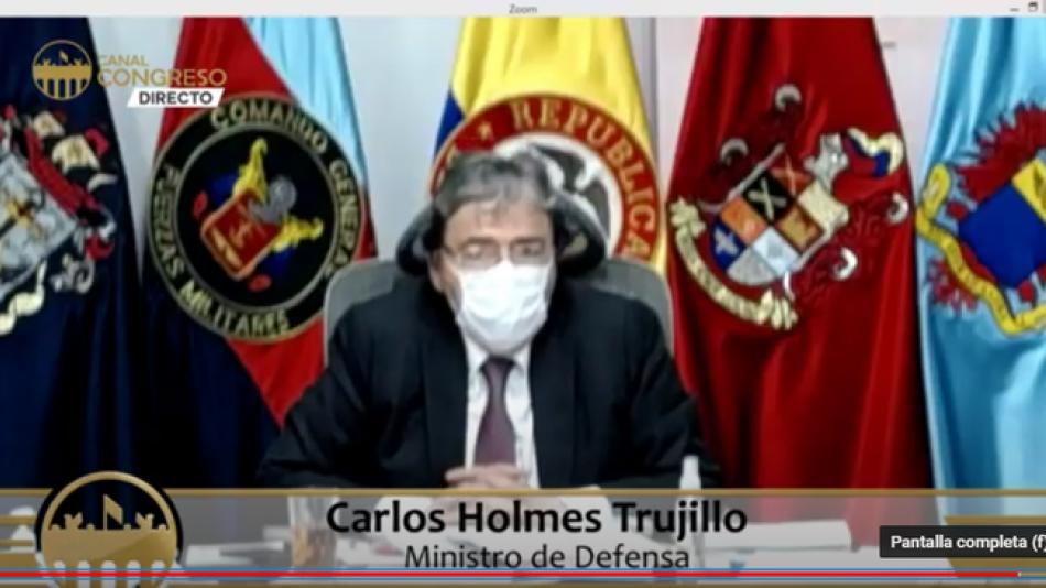Qué es la nueva jugadita de la que están hablando los opositores sobre Carlos Holmes, Mindefensa - Congreso - Política