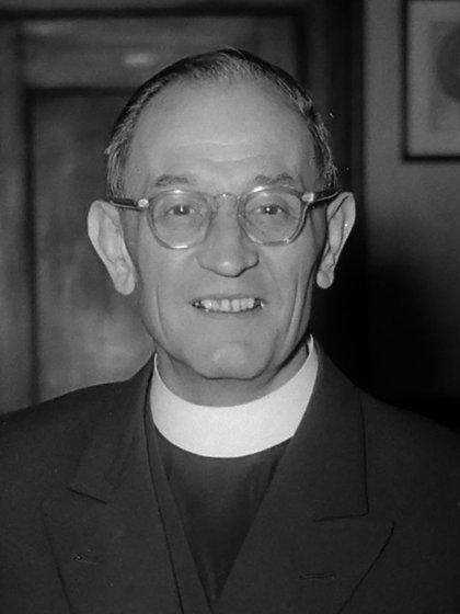 Niemöller fue un prominente pastor evangélico que resistió contra el nazismo en Alemania (Foto: J.D. Noske / Anefo/ Archivo Nacional de Alemania)