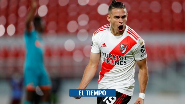 Rafael Santos Borré: gol con River en la Copa Libertadores en fuera de juego - Fútbol Internacional - Deportes