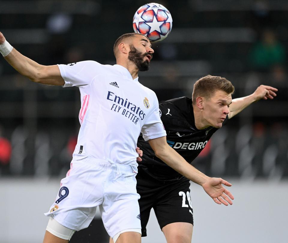Real Madrid empata con Borussia Mönchengladbach en la Champions League - Fútbol Internacional - Deportes