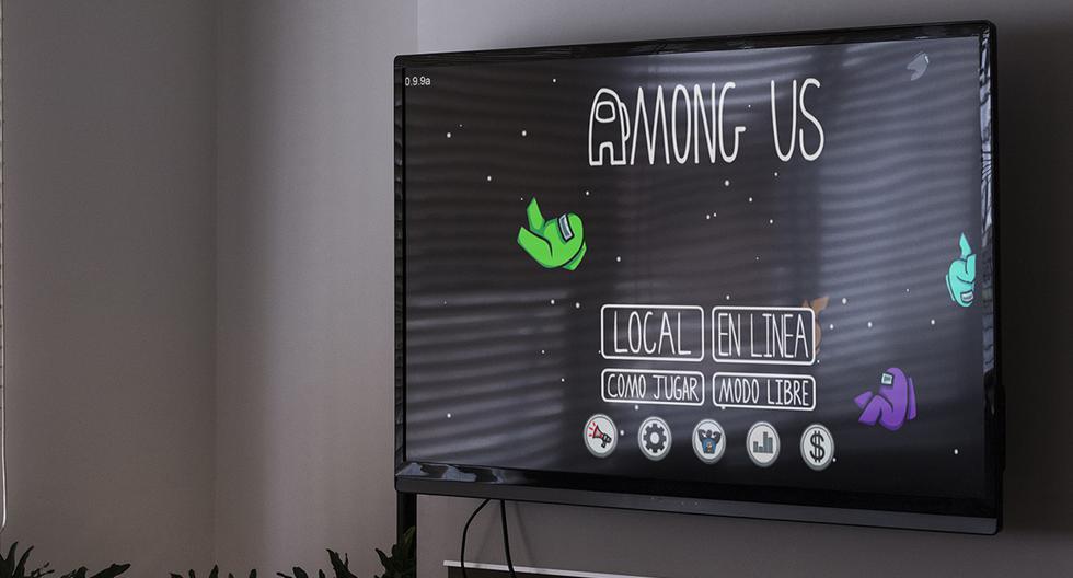 Tecnología: entre nosotros   Cómo jugar con nosotros en tu televisor   TV   Videojuegos