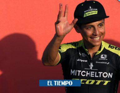 Vuelta a España 2020: Habla Esteban Chaves de la etapa 3 - Ciclismo - Deportes