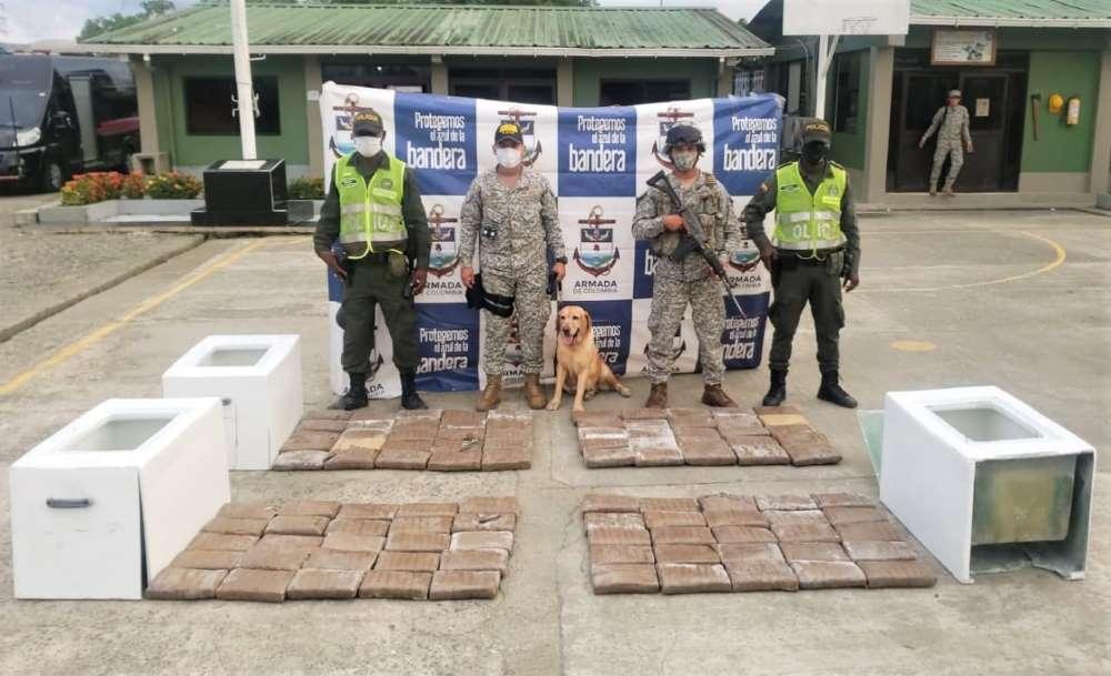 Fuerza pública incautó cargamento de marihuana en Buenaventura   Noticias de Buenaventura, Colombia y el Mundo