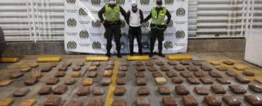 104 kilos de marihuana provenientes del Cauca fueron incautados en Buenaventura
