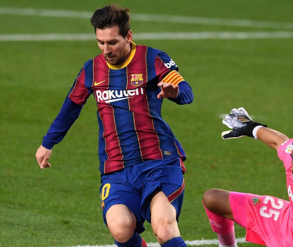 Barcelona 5-2 Betis: Lionel Messi la figura en la Liga de España - Fútbol Internacional - Deportes