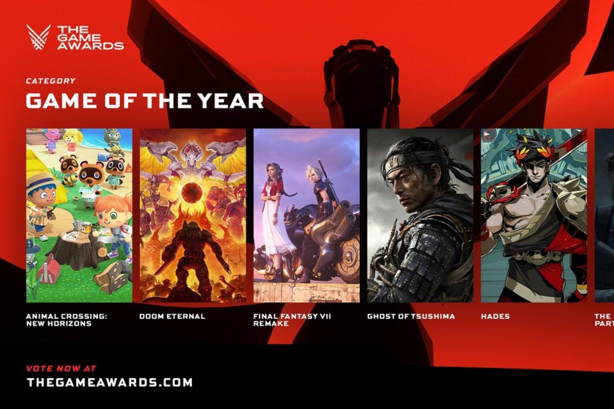 The Game Awards 2020: Conoce a los nominados a GOTY y otras categorías más