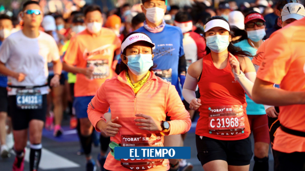 Coronavirus hoy: 9.000 Corredores desafiaron al covid-19 en el maratón de Shanghái - Otros Deportes - Deportes