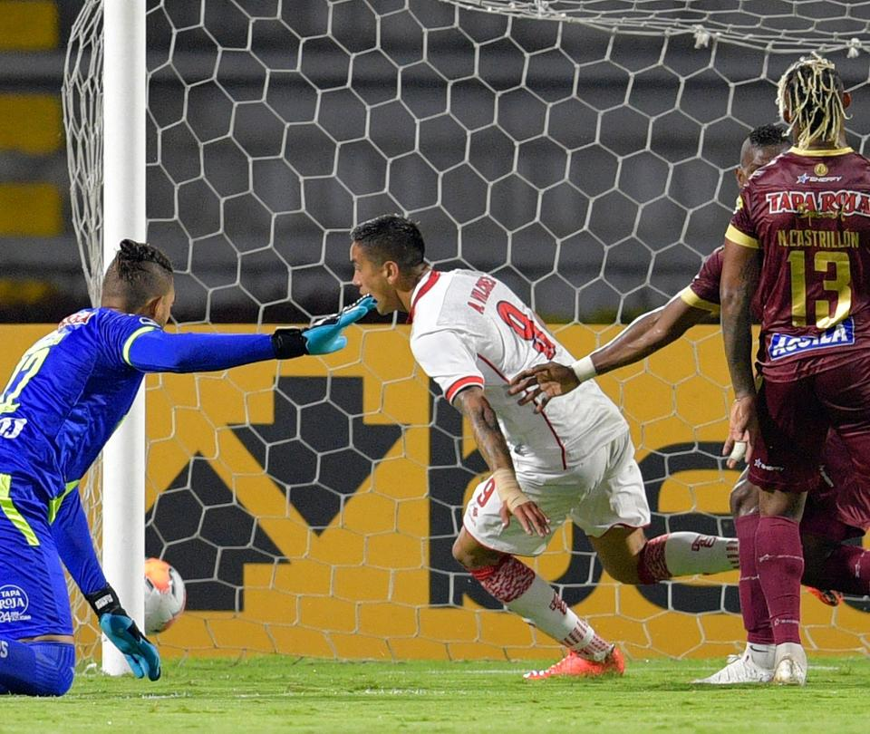 Deportes Tolima queda eliminado de la Copa Sudamericana al empatar 1-1 con Unión La Calera - Fútbol Internacional - Deportes