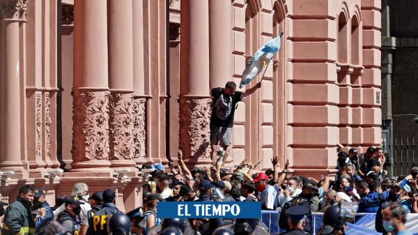 Diego Maradona: así fue la despedida del jugador en Argentina - Deportes