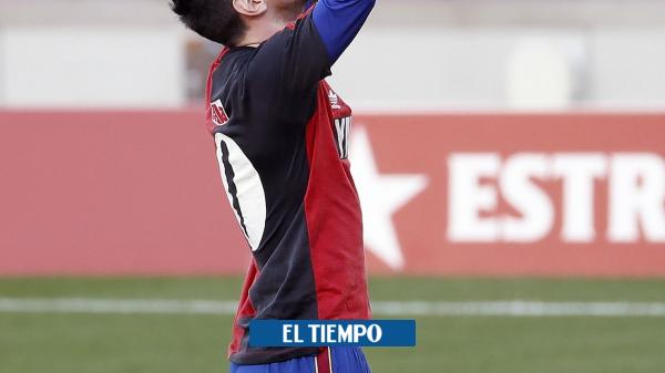 Diego Maradona: video la dedicatoria de Lionel Messi con su gol - Fútbol Internacional - Deportes