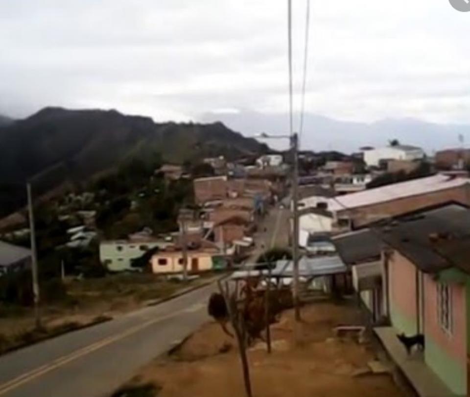 Ejército señala asonada de comunidad en Nariño, tras combates - Cali - Colombia