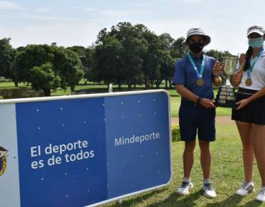 En Cali se disputó la primera competencia de golf con menores tras la pandemia del Covid-19