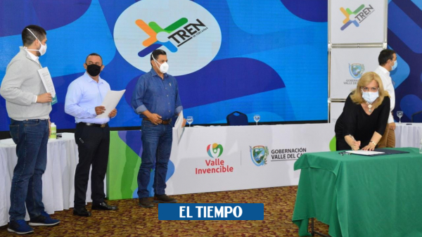 Entregan más recursos al proyecto del Tren de Cercanías en el Valle del Cauca - Cali - Colombia