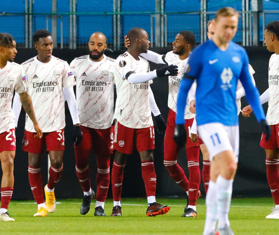 Europa League 2020-2021: resultados fecha 4 - Fútbol Internacional - Deportes