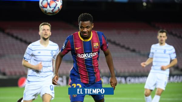 FC Barcelona: lesión de Ansu Fati en el partido contra Betis - Fútbol Internacional - Deportes