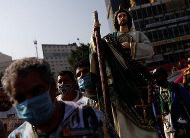 Celebrarán a San Judas Tadeo con la iglesia cerrada (Foto: Carlos Jasso/REUTERS)