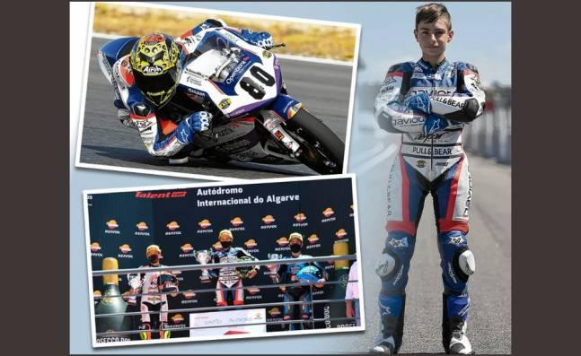 La historia de David Alonso Gómez, el colombiano que sueña con correr el MotoGP