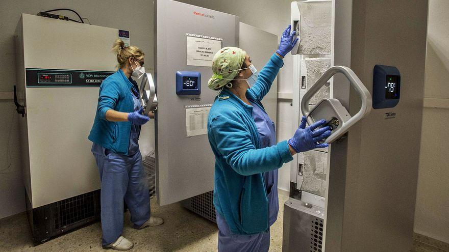 La provincia cuenta con la tecnología para almacenar más de 350.000 vacunas a -80 grados