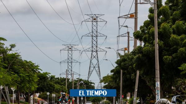 Municipios del Atlántico sin servicio de energía por falla - Barranquilla - Colombia