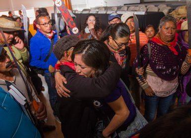 El Frente de Pueblos en Defensa de la Tierra (FPDT) se enfrentó con la policía del Estado de México en 2006 y decenas de mujeres fueron agredidas por agentes del Estado (Foto: Cuartoscuro)