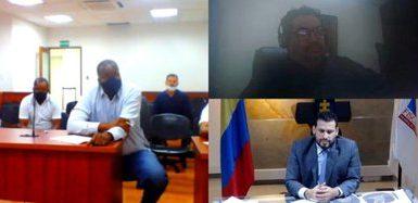 Audiencia corrupción contra alcalde Candelaria Valle. Crédito Fiscalía General de la Nación