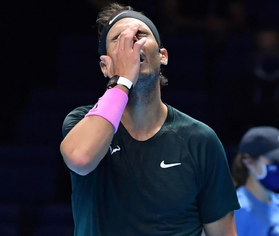 Rafael Nadal perdió con Daniil Medvedev el ATP Finals 2020 - Tenis - Deportes