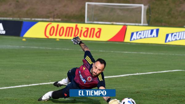 Razón por la que David Ospina no es titular de Colombia contra Ecuador - Fútbol Internacional - Deportes