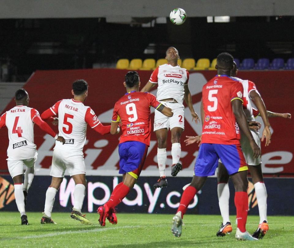 Santa Fe `pierde de visita contra Pasto 1-0 en la ida de cuartos de final de la Liga Betplay - Fútbol Colombiano - Deportes