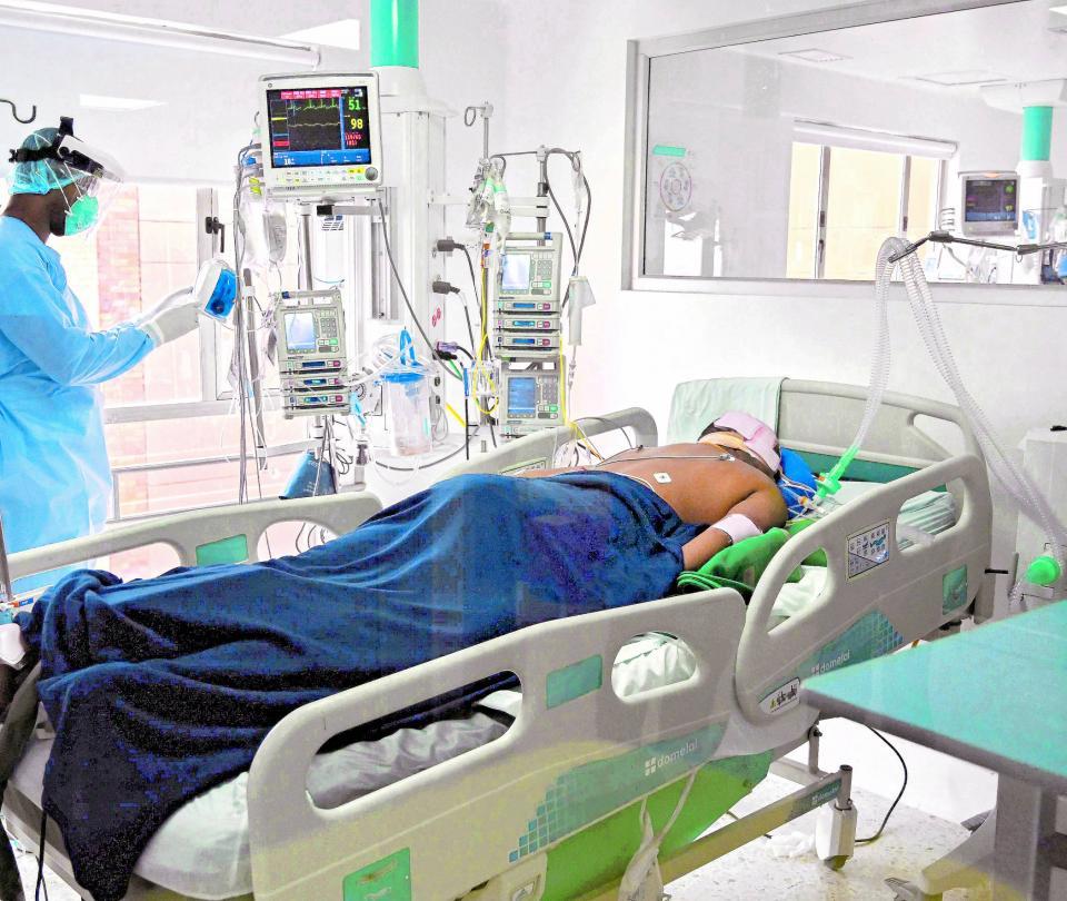 Alarma por ocupación de UCI para pacientes covid-19 en el Valle del Cauca - Cali - Colombia
