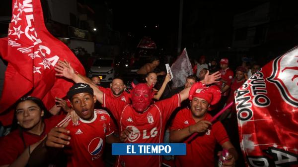 América campeón: así vivieron los hinchas la final en Bogotá y Cali en plena pandmeia - Fútbol Colombiano - Deportes