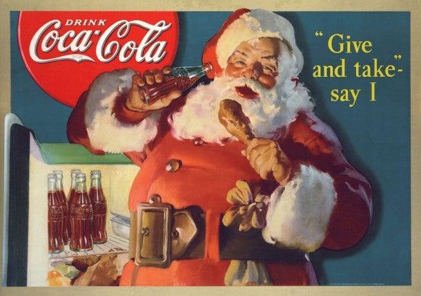 Así fue como Coca - Cola 'inventó' a Santa Claus